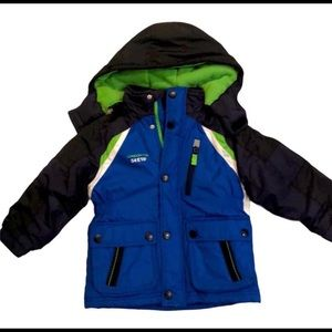 Toddler boys London fog winter jacket size 4